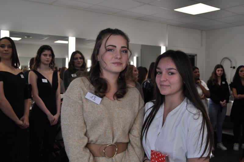 Eva Mouillevois concours Make-Up Noël