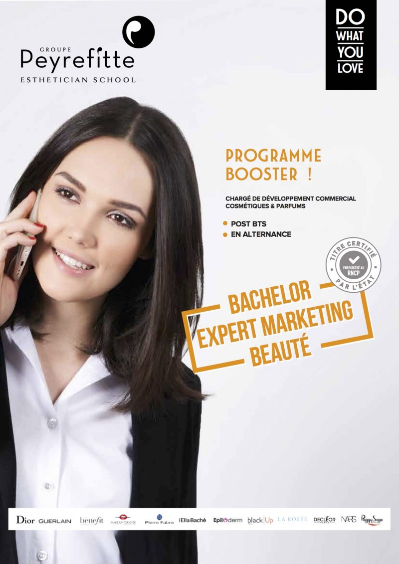 Fiche formation Bachelor Expert Marketing Beauté