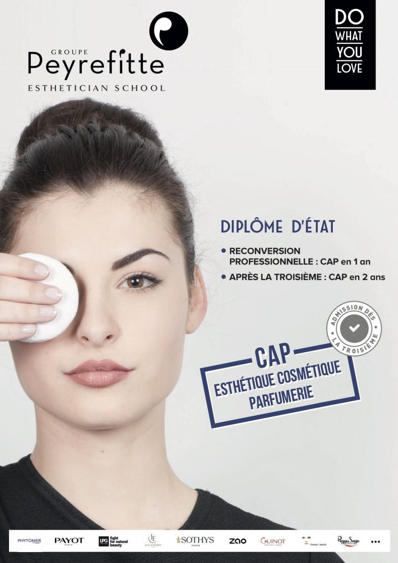 Fiche formation CAP Esthétique Cosmétique  - 1 an