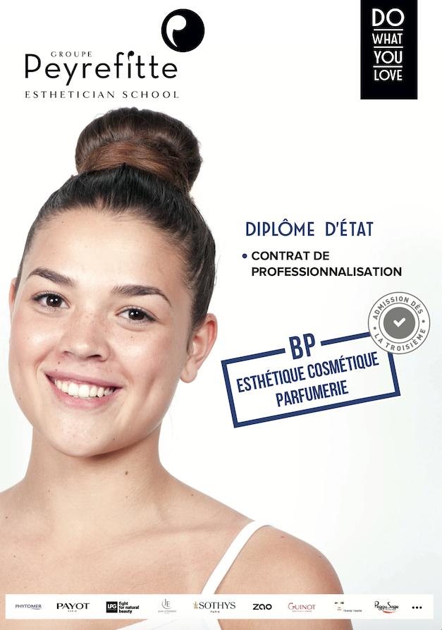 Fiche formation BP Esthétique Cosmétique Parfumerie