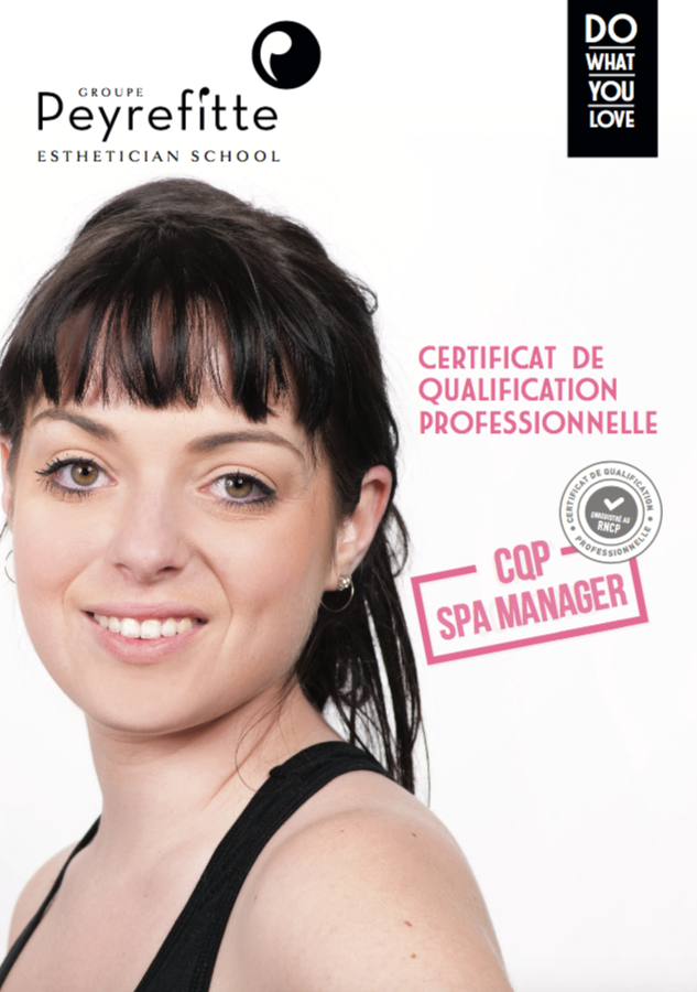 Fiche formation CQP Spa Manager