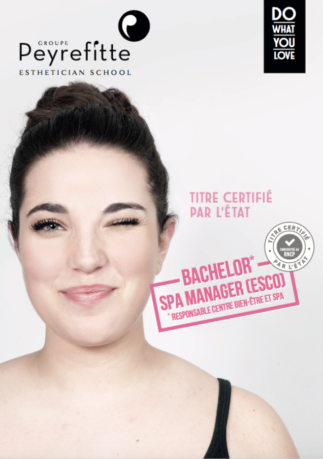 Fiche formation Bachelor Spa Manager Expert Soins Corps (ESCO)