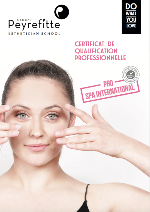 Fiche formation Pro Spa International